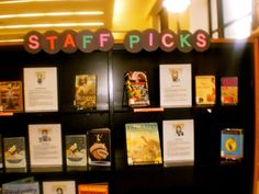 staff picks display