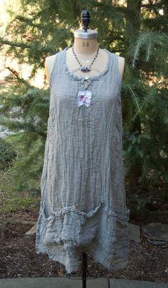 magnolia pearl anya slip | Magnolia Pearl Linen Gauze Vergie Slip $248 by Society Hill Designs