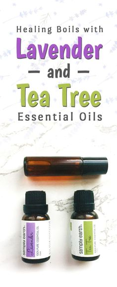 Raise your hand if you hate boils. Rather than going on an antibiotic to get rid of them, or to use chemical-based treatments, you can treat them with essential oils! Both lavender and tea tree are great to heal boils. Lavender soothes the flare up, and tea tree fights the bacteria. I have two recipes that can help you fight those painful suckers - a bath soak and a soothing ointment!