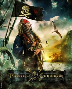 Fan poster Pirates by Bormoglot on DeviantArt Pirate Art, Pirate Life, Jack Sparrow Wallpaper, Fan Poster, Johnny Depp Movies, Captain Jack Sparrow, Disney Posters, Pirates Of The Caribbean, Pictures