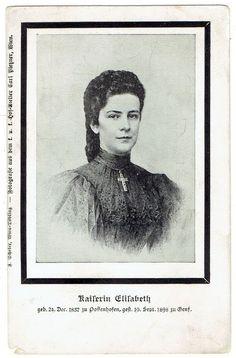 Elisabeth (Sissi), AK, Correspondenz-Karte Ihrer Majestät Kaiserin v. Österreich