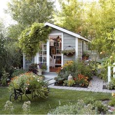 47 Incredible Backyard Storage Shed Design and Decor Ideas 47 Incredible Backyard Storage Shed Design and Decor IdeasAre you planing make some a backyard shed?Well if you need some storage shed, we c Backyard Storage Sheds, Backyard Sheds, Shed Storage, Backyard Landscaping, Landscaping Ideas, Outdoor Sheds, Small Storage, Outdoor Storage, Storage Ideas