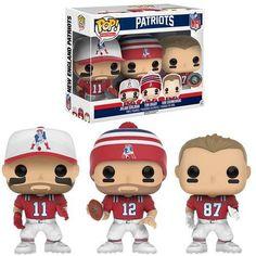 Nfl-Tom Brady de New England Patriots Funko Wacky Wobbler Bobble Head Caja Dañada
