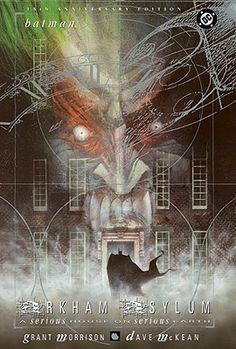 Batman: Arkham Asylum by Grant Morrison