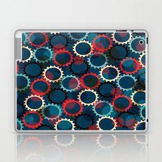 Flores de luna Laptop & iPad Skin by Miguel Á. Núñez I. - $25.00