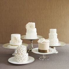 6 Wedding Cakes-The Knot