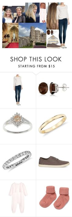 """Spending the day with Frances, Autumn, Sophie and Louise and talking about love, life and children"" by charlottedebora ❤ liked on Polyvore featuring MANGO, Allurez, Blue Nile, TOMS, Berkshire, Bebe and Wessex"