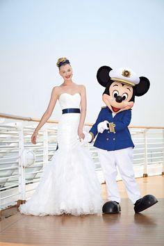 Disney Cruise wedding!