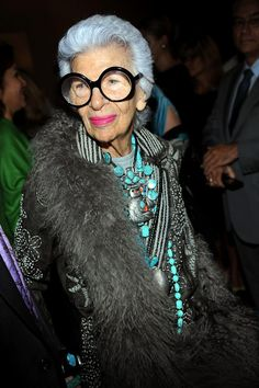 Iris Apfel~   by Museum at FIT