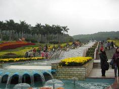 Yuntai Garden on Baiyun Mountain, just outside Guangzhou, China. Taken during Chinese New Year! #happyplace