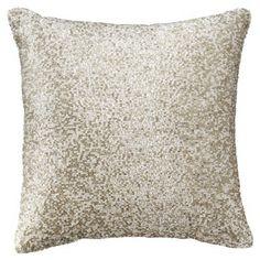 "Threshold™ Mini Beaded Toss Pillow - 12x12"""