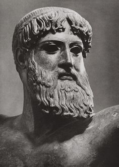 Ancient Greece. Poseidon, greek god of the sea