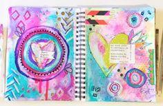 Art Journal Spread — Rebecca Janousek