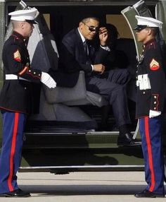POTUS Obama gets all the cool points*