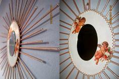 Oglinda decorativa Angels