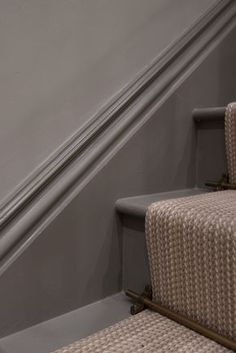 It may be small and narrow, but that doesn't mean your stairway can't get the same decorating treatment as the rest of your house. These staircase decorating ideas will give your entryway a step up. Find and save ideas about Painted stairs in this article. #Stairway #PaintedStairs #StaircaseLighting #HomeDecorIdeas #HouseIdeas