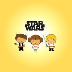 Cute Star Wars fanart