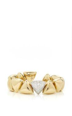 Frecchia Pave White Gold Bracelet by Vhernier.