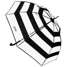 Love. Love. Love..... Jean Paul Gaultier Striped Clear Umbrella