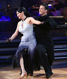 "Shannen Doherty and Mark Ballas in ""Dancing with the Stars"""