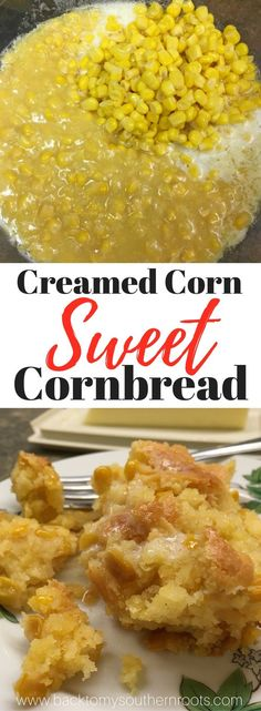 Creamed Corn Sweet Cornbread is a southern staple for dinner and supper. The recipe is easy to make and budget-friendly. Creamed Corn Sweet Cornbread is a delicious side dish that anyone can make. Creamed Corn Cornbread, Creamed Corn Recipes, Sweet Cornbread, Cornbread Recipe With Canned Corn, Fried Cornbread, Cornbread Recipes, Jiffy Cornbread, Corn Dressing Recipe, Cream Corn Bread