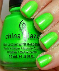 [GIFT] China Glaze Summer 2012 Summer Neons Collection  - I'm With The Lifeguard