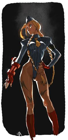 bear1na: Street Fighter - Cammy White by Kim Il Kwang