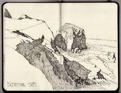 Ian Sidaway sketchbook