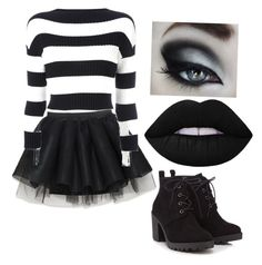 Laughing jack by hcelia on Polyvore featuring polyvore, fashion, style, Boutique Moschino, Red Herring and clothing
