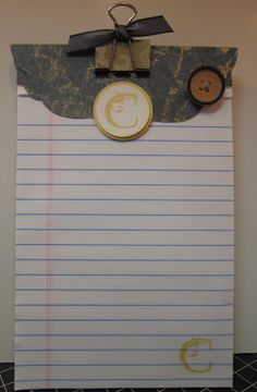 Just Sponge It: Notepads