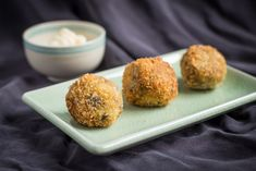 I've just made a Wild Mushroom Arancini using Campbells' Condensed Mushroom Soup, check it out.