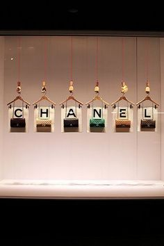 Chanel Handbag Window Display
