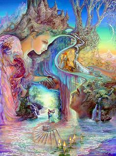 """Sweet Synergy 2"" par Josephine Wall"
