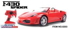 RC Auto 8203  MJX Ferrari F430 Spider