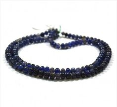 Iolite Gemstone from African Mines Beads with Healing Properties