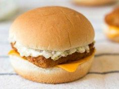 Get the best McDonald's Filet-O-Fish recipe on the ORIGINAL copycat website! Todd Wilbur shows you how to easily duplicate the taste of famous foods at home for less money than eating out. Mcdonalds Recipes, Cat Recipes, Fish Recipes, Seafood Recipes, Cooking Recipes, Healthy Recipes, Cooking Fish, Seafood Meals, Hamburgers