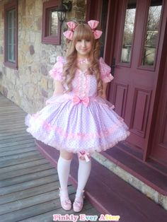 Darling Sugar Cake OP Dress from Pinkly Ever After