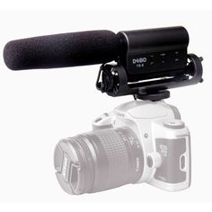 [$25.86] DEBO YS-8 Professional Photography Interview Dedicated Microphone for DSLR & DV Camcorder