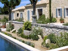 Gardens and Landscaping : Patios and Fountaines - A. Nelson Architect, Landscape in Provence, France