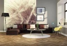 Bildergebnis für holzoptik tapete wohnzimmer