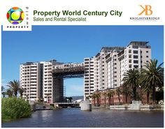 Located adjacent to Canal Walk, KnightsBridge is surrounded by water!