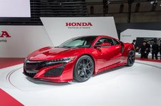 Honda NSX w Honda Krężel & Krężel