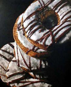 Pamela Michelle Johnson | OIL | Donuts II