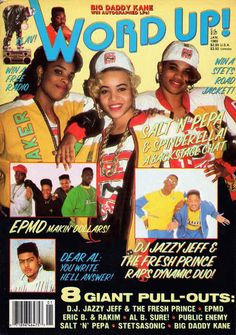 Word Up! , January 1989 | 12 Magazine Covers That Perfectly Sum-Up Hip-Hop's Golden Era