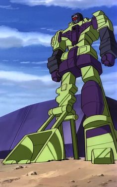 "Transformers G1 Devastator (from ""Desertion of the Dinobots, Part 1"")"
