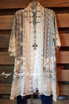 Eye Candy Kimono - - Umgee - Cardigan - Angel Heart Boutique - 3