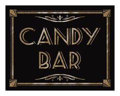 Sings to label tables, grand march and things. Maybe if we did black with the Tiffany blue glitter. Great Gatsby Prom, Great Gatsby Themed Party, Gatsby Party, Roaring 20s Party, 1920s Party, Flapper Party, Deco Buffet, 1920s Theme, Bar A Bonbon
