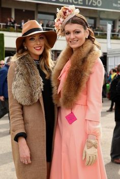 Kathy Fleming and Cassie Emerson from County Fermanagh at Cheltenham | Telegraph