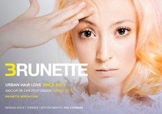 BRUNETTE ☮ ANNIVERSAIRE / wir haben GEBURTSTAG / we have BIRTHDAY / nous avons ANNIVERSAIRE / und freuen uns auf die nächsten 3 jahre mit EUCH / 3 years with YOU / 3 ans avec VOUS / #brunette3anniversaire #urbanhairlove #dreamteam / ✃ ✁ ✃ ✁ ✃