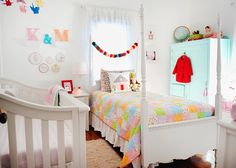 K & M's Colorful Handmade Shared Room